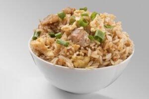 imagen plato de arroz chaufa de pollo