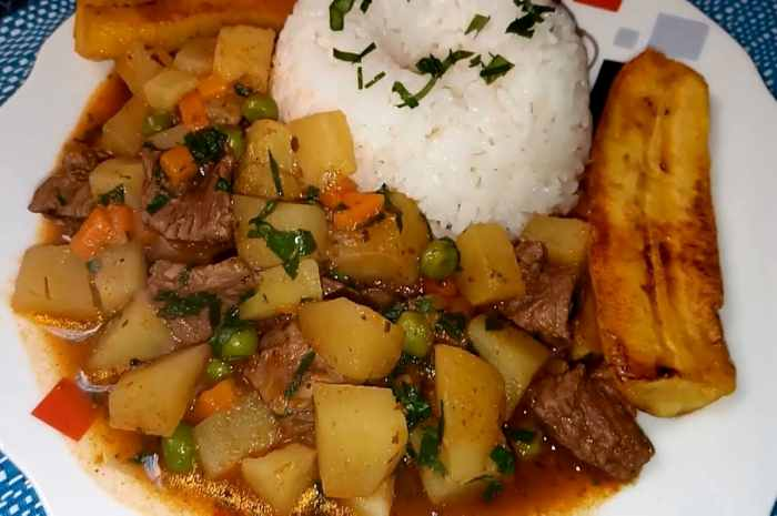picante de carne peruano imagen
