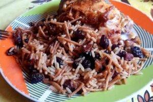 arroz arabe peruano imagen
