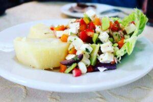 imagen plato de solterito arequipeño