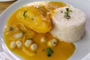 imagen plato del ceviche de pollo peruano
