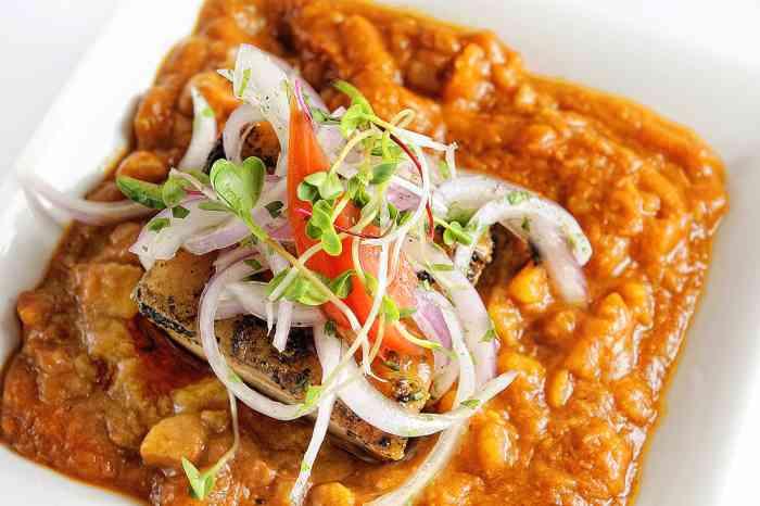 imagen plato de carapulcra chinchana con sarsa criolla