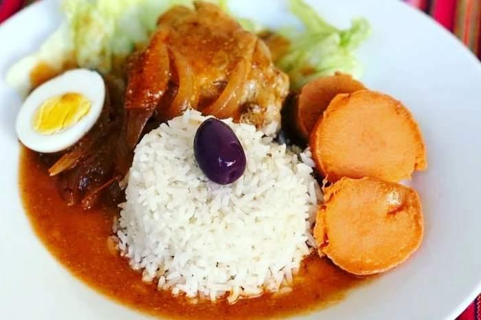 escabeche de pollo peruano imagen