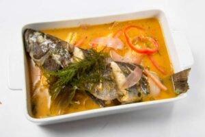 imagen plato de sudado de pescado