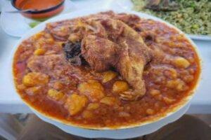 imagen del picante de cuy peruano