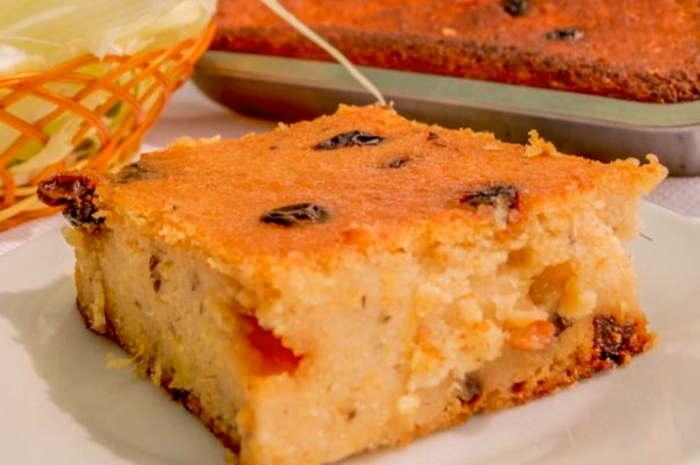 imagen porción de pastel de choclo dulce peruano