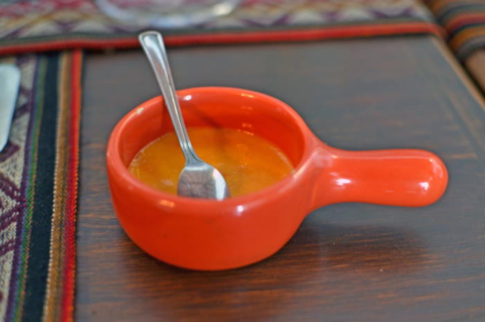 imagen pote con salsa de rocoto