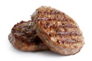 imagen de dos hamburguesas caseras