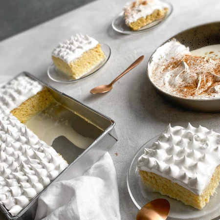 imagen torta tres leches peruana